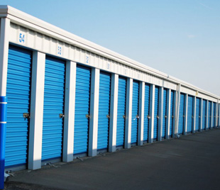 Outdoor units of West 50 Self Storage